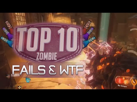 TOP 10 ZOMBIES FAILS/WTF #7
