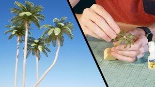 Coconut Palm Tree Tutorial - Model Scenery