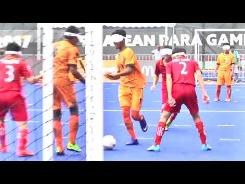 9th ASEAN Para Games | Football 5-A-Side Highlights | Day 2 - 19th September