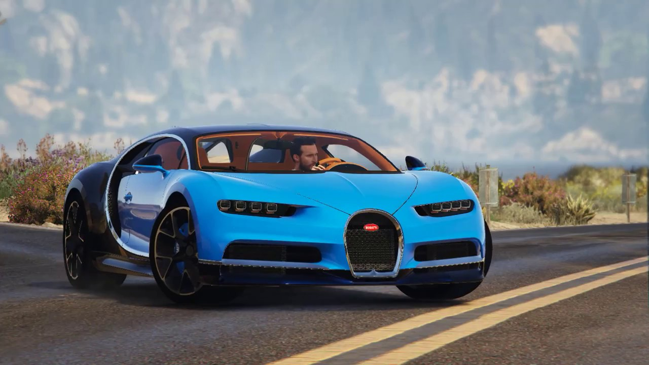 Grand Theft Auto V - 2017 Bugatti Chiron - YouTube