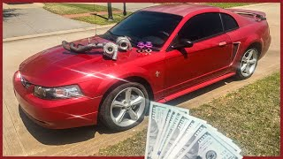 I Bought a TWIN TURBO mustang for $1000!!!