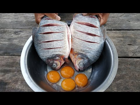 Tasty Crispy Fish Cooking | Whole Fish Crispy Recipe