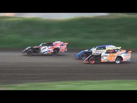 IMCA Sport Mod Heats Marshalltown Speedway 5/26/17