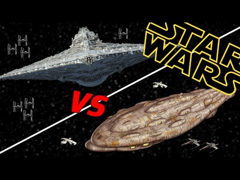 Assertor Super Star Destroyer vs Viscount Star Defender | Star Wars Who Would Win