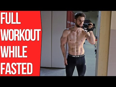Full Upper Body Workout - Intermittent Fasting Training