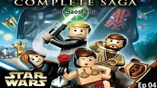 """Lego Star Wars: The Complete Saga Ep. 04 """"Carrera De vainas En Mos Espa"""" (La Amenaza Fantasma)"""