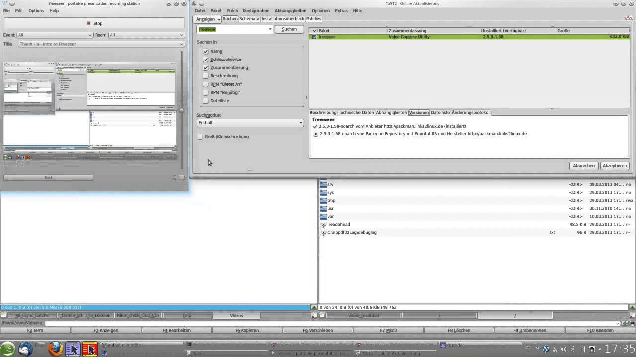 Desktop Aufzeichnen