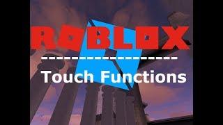 Funzioni Touch! Scripting di ROBLOX Studio