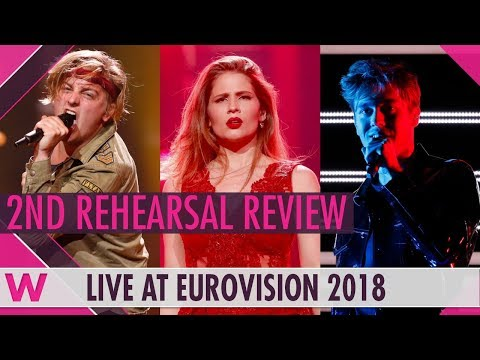 Second Rehearsals: Hungary, Latvia, Sweden @ Eurovision 2018 (Review) | wiwibloggs