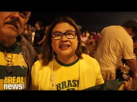 Supporters of Brazil's Neofascist President Celebrate, Workers Party in Shock