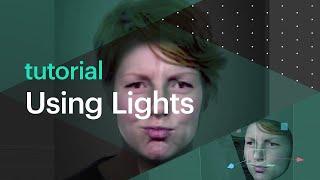 البرنامج التعليمي: باستخدام أضواء