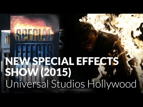 New Special Effects Show (2015) at Universal Studios Hollywood