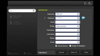 Iris floral pos - manage user feature