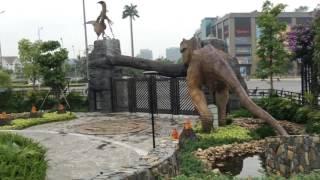Công viên khủng Long Hà Nội,tại khu đô thị Vinhomes RiverSide
