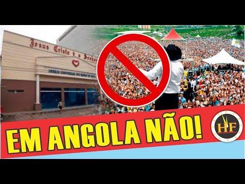 Governo da Angola proíbe operação de igrejas evangélicas do Brasil