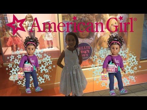 Surprise visit to American Girl