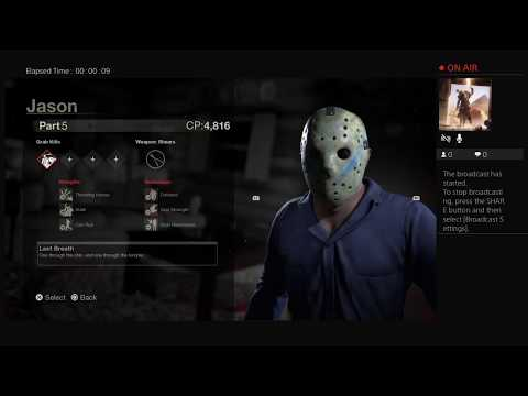 weed smoking gamers Live PS4 Broadcast FRIDAY THE 13TH