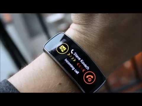 Samsung Gear Fit Fitness Tracker and Smartwatch Overview