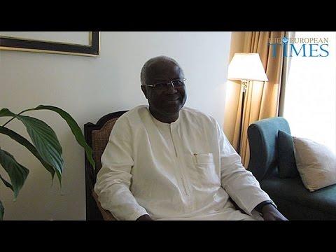 President of Sierra Leone, H.E. Ernest Bai Koroma