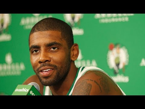 (FULL) Celtics' Kyrie Irving press conference | 2017 NBA Media Day | ESPN