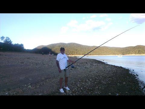 Burrinjuck Dam Jan 2015 -Part 2 Dad And Sunset Fishing