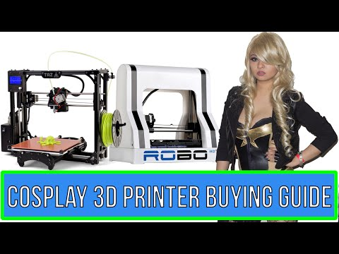 3D Printer Buying Guide for Cosplay