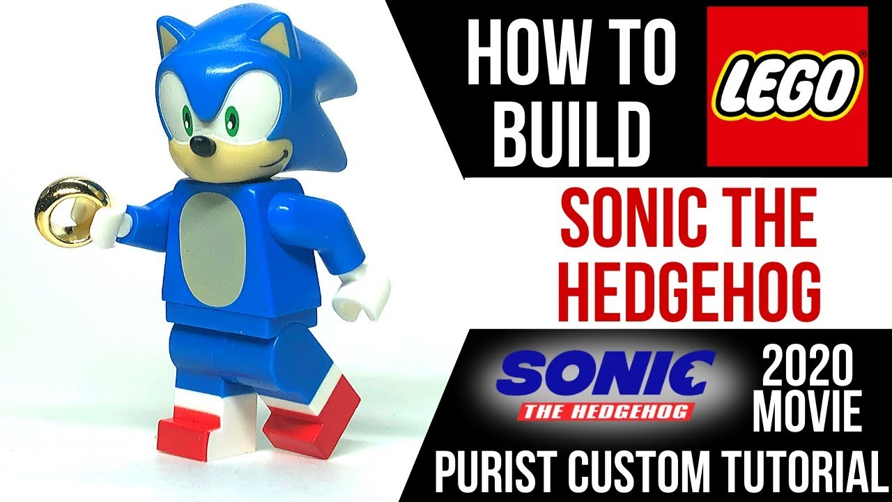 How To Build Lego Sonic The Hedgehog From The New Movie Youtube