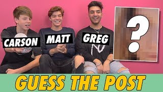 Carson Lueders, Matt Sato & Greg Marks - Guess The Post