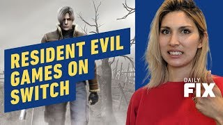 Tons of Resident Evil Coming to Switch - IGN Daily Fix