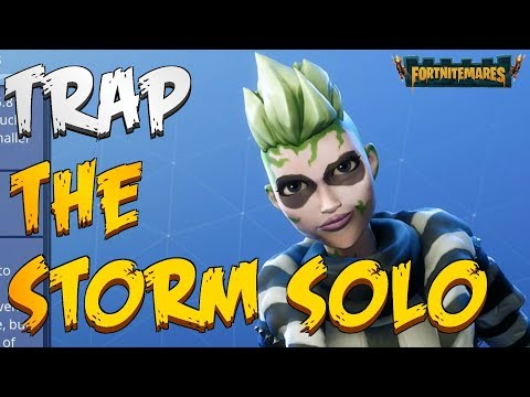 FORTNITEMARES - Trap The Storm Solo With Ranger Beetlejess (Best DPS Outlander)