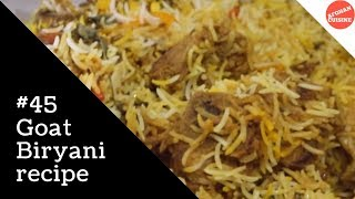 Goat biryani recipe بریانی از گوشت بز 'afghan cuisine' - pakistani cuisine - cooking afghan food