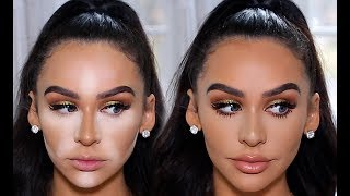 TRYING THE NEW KKW CONCEAL, BAKE & BRIGHTEN
