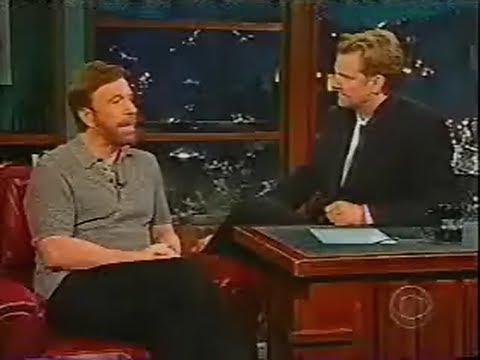 Chuck Norris - The Late Late Show with Craig Kilborn - 2002
