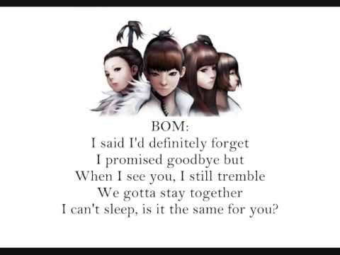 Lonely English Lyrics lyrics by 2NE1 - original song full ...