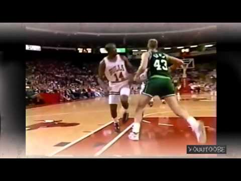 Craig Hodges   Between the leg assist to Michael Jordan