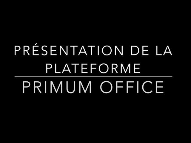 Présentation Primum Office