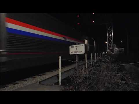 *The Annapolis #68001 Viewliner Diner* Amtrak P098-09 heads North to NYC meeting G606