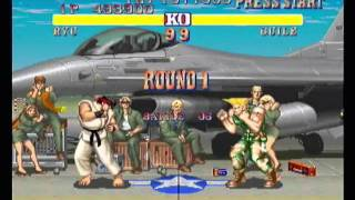 Street Fighter II: The World Warrior, PlayStation