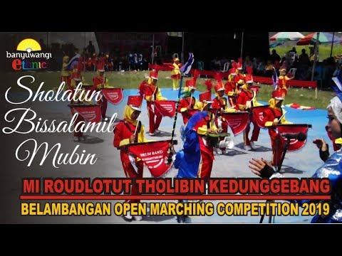 Sholatun Bissalamil Mubin Drumband Mi Roudlotut Tholibin Kedunggebang Di Bomc 2019 Jajag