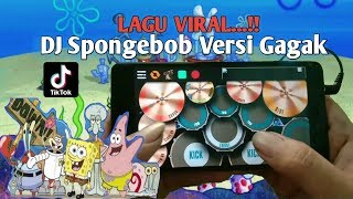 Download Dj Spongebob Versi Gagak | Real Drum Cover