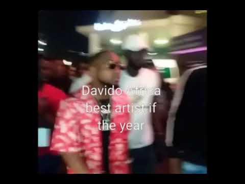 MVP Africa artist of the year , Davido