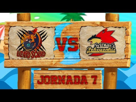 LCE Pokémon SL [Liga Luna] - ¡Lizard Squad VS Pokeyonkis! - Jorn 7 Temp 3