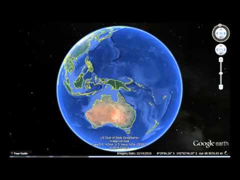 Vanuatu Google Earth View