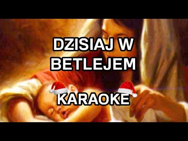 Kolędy - Dzisiaj w Betlejem [karaoke/instrumental] - Polinstrumentalista