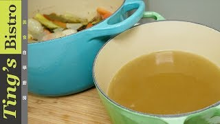 清透鮮甜的萬用雞高湯,料理入門必學 客座系列 主廚阿文