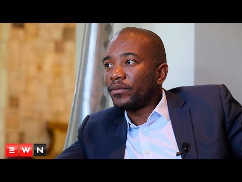 Maimane on coalitions, Zille and the ANC