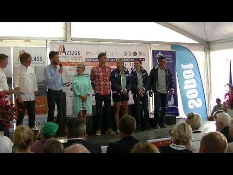Prize Giving Ceremony - A-Class Worlds 2017 Part 1