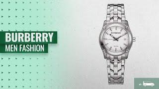 Burberry Men Fashion [Hot New Arrivals 2018]: Burberry Unisex Men Women Watch Heritage SWISS LUXURY