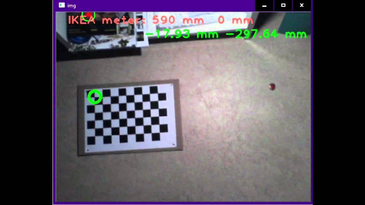 OpenCV - 05 distance measurement