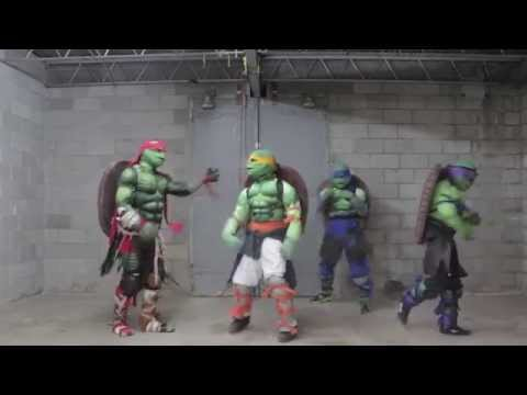 Gym Time With The Turtles